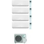 CONDIZIONATORE DAIKIN PERFERA WALL QUADRI SPLIT 7000+12000+12000+12000 BTU WI-FI INVERTER R32 4MXM80N A+++