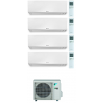 CONDIZIONATORE DAIKIN PERFERA WALL QUADRI SPLIT 9000+9000+12000+18000 BTU WI-FI INVERTER R32 4MXM80N A+++
