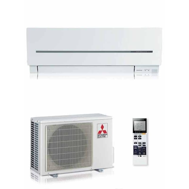 MITSUBISHI CLIMATIZZATORE CONDIZIONATORE MONOSPLIT DC INVERTER 12000 BTU MSZ-SF 3,5 KW MSZ-SF35VE + MUZ-SF35VE
