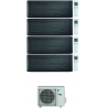 CONDIZIONATORE DAIKIN STYLISH REAL BLACKWOOD WI-FI QUADRI SPLIT 7000+7000+12000+12000 BTU INVERTER R32 4MXM68N A+++