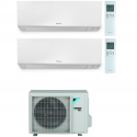 CONDIZIONATORE DAIKIN PERFERA WALL DUAL SPLIT 9000+9000 BTU WI-FI INVERTER R32 2MXM68N A+++