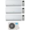 CONDIZIONATORE OLIMPIA SPLENDID NEXYA S4 E WIFI TRIAL SPLIT 9000+9000+12000 BTU INVERTER GAS R32 OS-CEMYH21EI A++