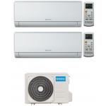 CONDIZIONATORE OLIMPIA SPLENDID NEXYA S4 E WIFI DUAL SPLIT 9000+9000 BTU INVERTER GAS R32 OS-CEMYH18EI A++
