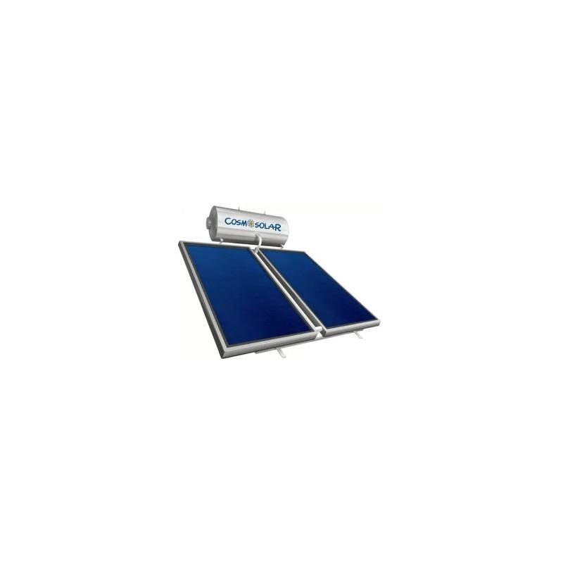 Pannello Solare Cosmosolar Circolazione Naturale 300 Litri per Tetto Piano e Inclinato EGLK300/5,06