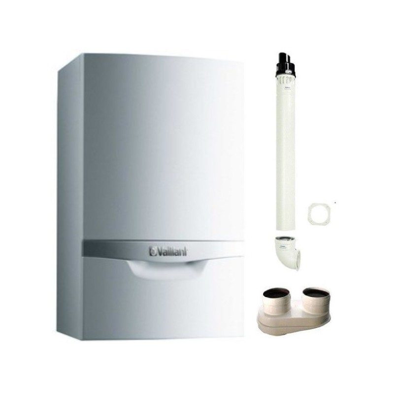 CALDAIA A CONDENSAZIONE VAILLANT ECOTEC PLUS VMW IT 306/5-5 P GPL 30 KW + KIT FUMI OMAGGIO