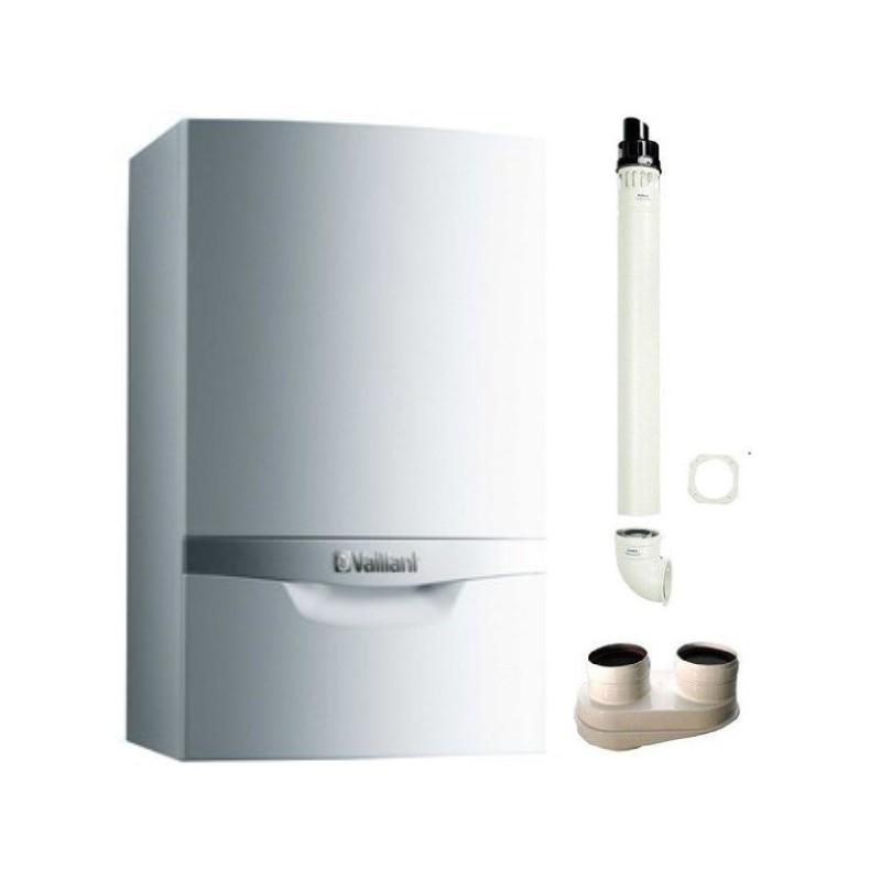 CALDAIA A CONDENSAZIONE VAILLANT ECOTEC PLUS VMW 346/5-5 METANO 34 KW + KIT FUMI OMAGGIO