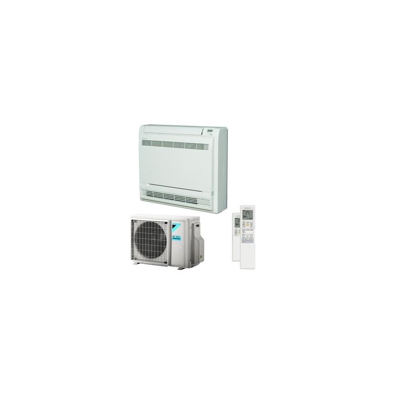 DAIKIN CONDIZIONATORE A PAVIMENTO MONOSPLIT CONSOLE GAS R32 12000 BTU SERIE F FVXM35F A++