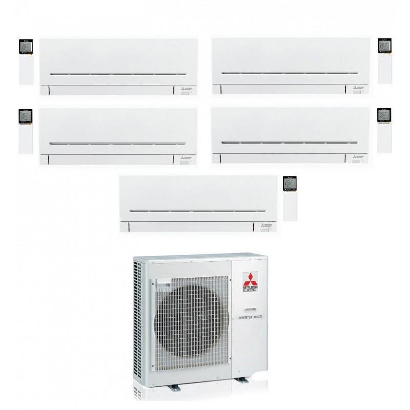 CONDIZIONATORE MITSUBISHI MSZ-AP PENTA SPLIT 9000+9000+9000+9000+12000 MXZ-5E102VA A++