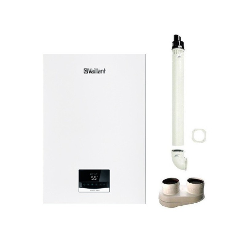 Vaillant Caldaia ecoTEC Intro VMW 18/24 AS/1-1 a condensazione 24 Kw Metano + kit fumi omaggio