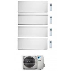 DAIKIN STYLISH CONDIZIONATORE QUADRI SPLIT 7000+7000+18000+18000 BTU BIANCO GAS R-32 WI-FI INVERTER 4MXM80N A+++