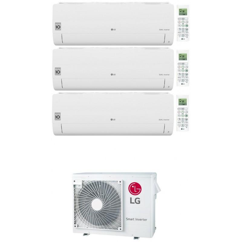 LG LIBERO SMART CONDIZIONATORE WIFI R32 TRIAL SPLIT INVERTER 9000+9000+12000 BTU MU3R19 A+++