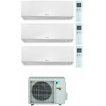 CONDIZIONATORE DAIKIN PERFERA WALL TRIAL SPLIT 7000+7000+18000 BTU WI-FI INVERTER R32 3MXM52N A+++